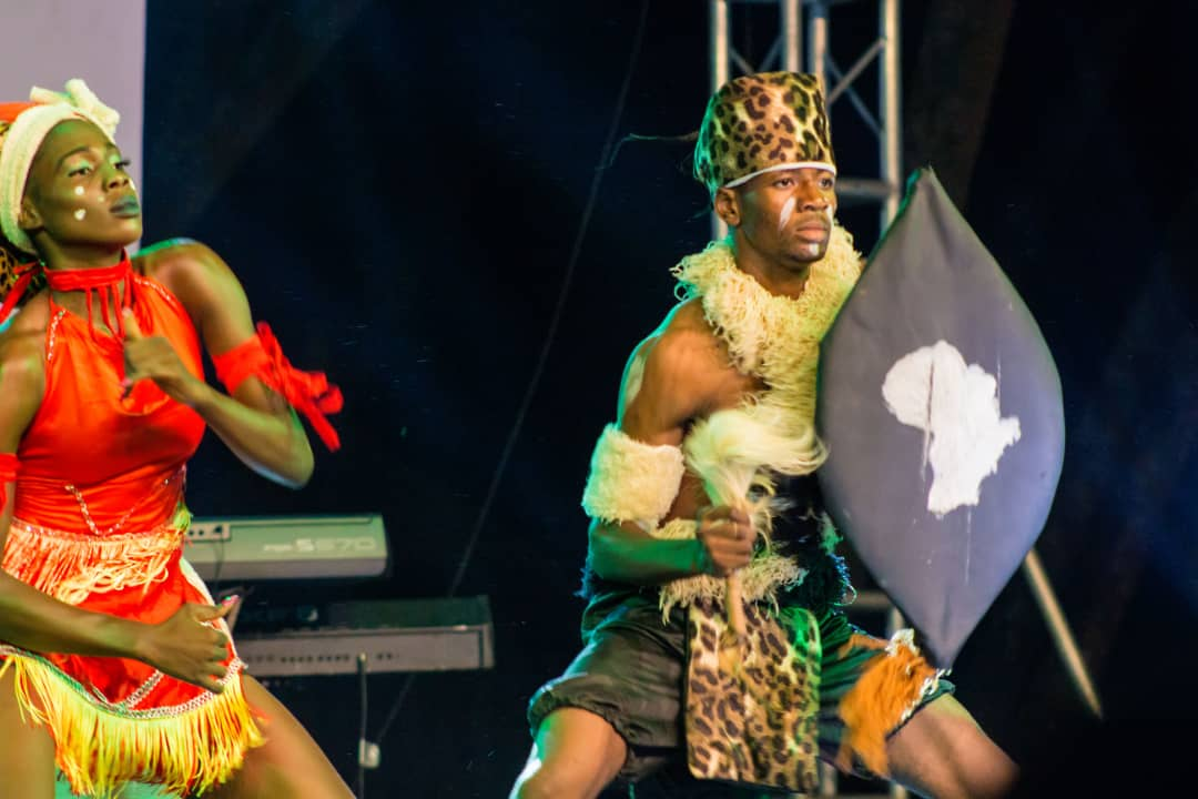 Zulu dance from south Africa2(south africa)